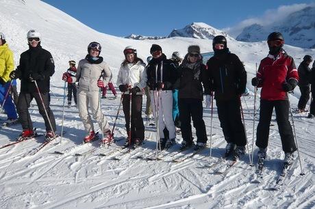 Skifreizeit Adelboden 2011