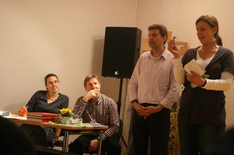 JHV 2011 - Annette und Winfried sagen DANKE.